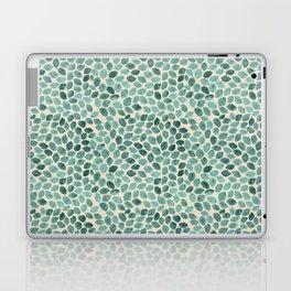 Teal Petals Laptop & iPad Skin