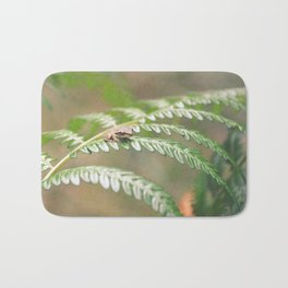 Itty Bitty Fern Frog Bath Mat