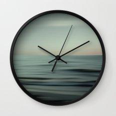 Waves of Calm V2 Wall Clock