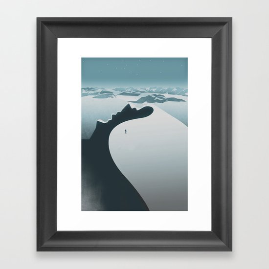 Norway / Travel Collection Framed Art Print