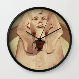 Great Sphinx of Tanis Wall Clock