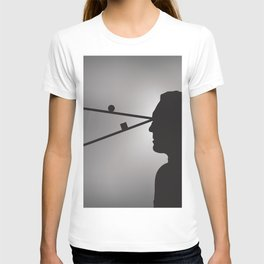 The Prisoner is Being Tested T-shirt