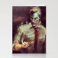 true detective Stationery Cards featuring True Detective by nlmda
