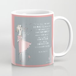Hermit - Alan Watts Coffee Mug