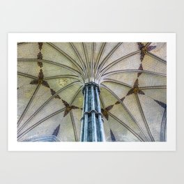 Ornate Ceiling Art Print