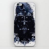 darth iPhone & iPod Skins featuring Darth Vader by qualitypunk
