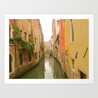 Summer in Venice, Italy Art Print