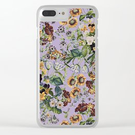 Romantic Garden VIII Clear iPhone Case