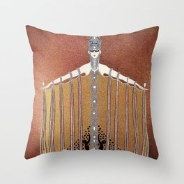 """Design in Art-Deco Style """"Adoration"""" Throw Pillow"""