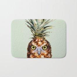 PINEAPPLE OWL Bath Mat