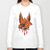 fnaf Long Sleeve T-shirts featuring FNAF: Foxy the Pirate by Hide-N-Seek
