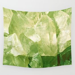 Green Gems Wall Tapestry