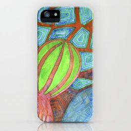 Still Life with Eggplant iPhone Case