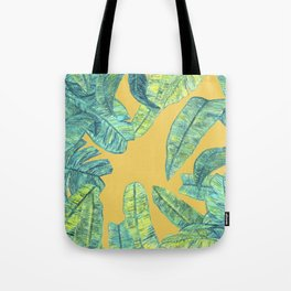 orange tropical daze Tote Bag