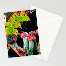 Pebbly Psychedelics Stationery Cards
