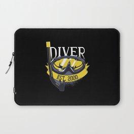 Diver Life Scuba Diving Laptop Sleeve