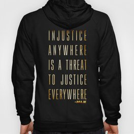 Martin Luther King Typography Quotes Hoody