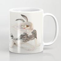 koi Mugs featuring Koi by Xiuyuan Zhang