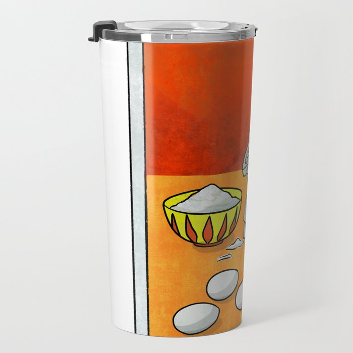 The Triumvirate | Baker's Tarot Travel Mug