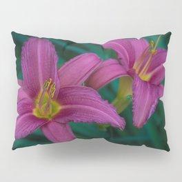Pink Lillies Pillow Sham
