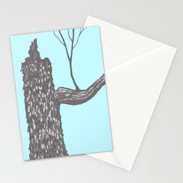 Nut Tree Illustration Stationery Cards
