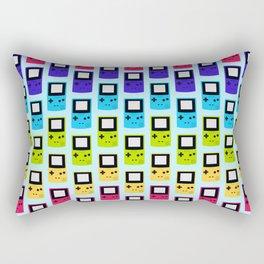 Rainbow Nostalgia Rectangular Pillow
