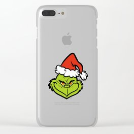 The Grinch Christmas Clear iPhone Case