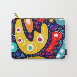 Night Life Abstract Art pattern decoration Carry-All Pouch