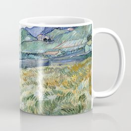 Landscape from Saint-Remy by Vincent van Gogh Coffee Mug