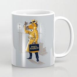 I'm Not a Russian Spy Coffee Mug