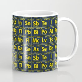 Elements of the Periodic Table Coffee Mug