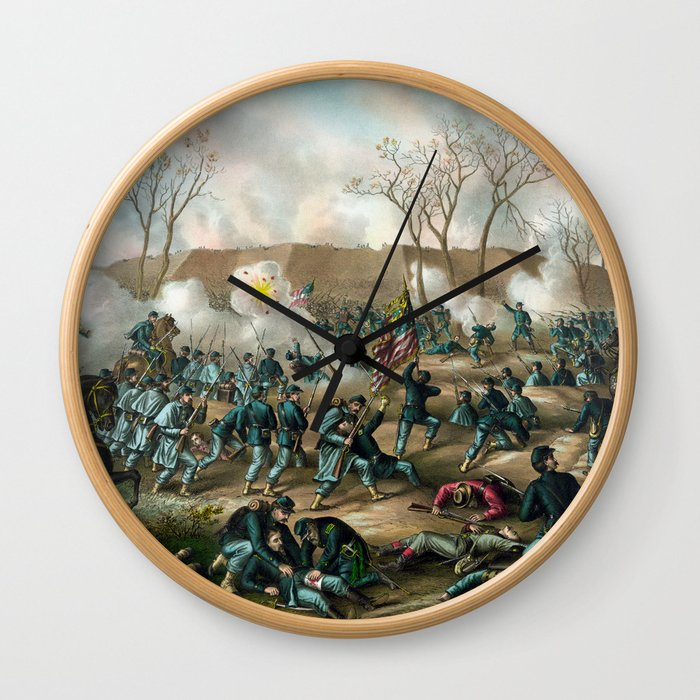Battle of Fort Donelson Wall Clock