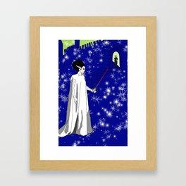 Queen of Swords Framed Art Print