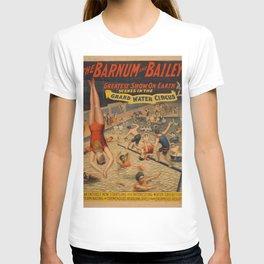 Vintage poster - Grand Water Circus T-shirt