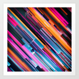 Colorain Art Print