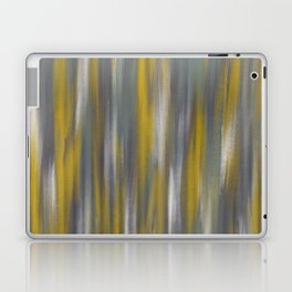 Chartreuse and Grey Woven Textile Design Laptop & iPad Skin