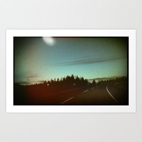 night drives Art Print