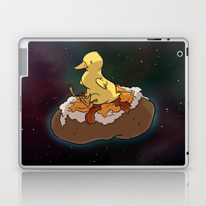 Space Duck Laptop & iPad Skin