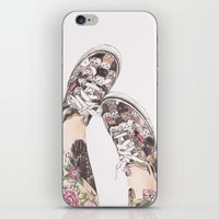 shoes iPhone & iPod Skins featuring Shoes by Carlos ARL