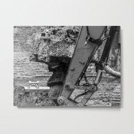 Earth Move Metal Print