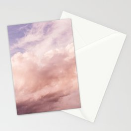 Perfect Pink Summer Sky Nature Photography Stationery Cards