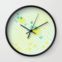 Marshmollow - Mint Wall Clock