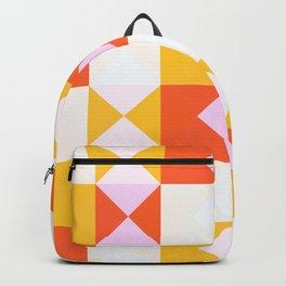 geometric retro design Obariyon Backpack
