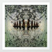 Bug: Divided Art Print
