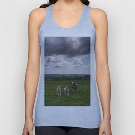 Sheep In The Stour Valley Unisex Tank Top