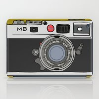 camera iPad Cases featuring Camera by Illustrated by Jenny
