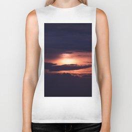 Sun and Clouds Biker Tank