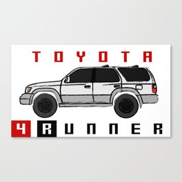 4runner Third generation (N180; 1995–2002) Canvas Print