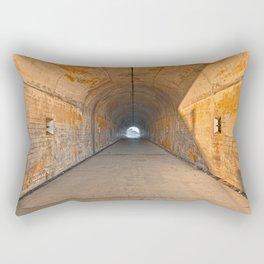 California War Tunnel Rectangular Pillow