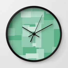 Matted Green - Color Therapy Wall Clock